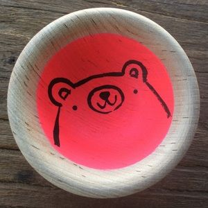 Handmade Bear Ring Dish